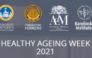 8-13 novembre 2021. Invecchiamento di successo 2021: forza e vulnerabilità dell'anziano